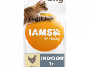 IAMS for Vitality Indoor Chicken Dry Cat Food 2kg