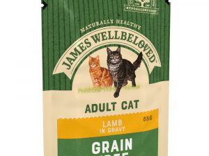 Adult Lamb Pouches James Wellbeloved Wet Cat Food
