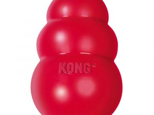 Red KONG Classic Dog Toy