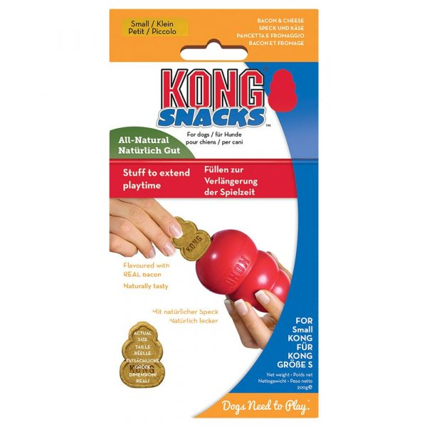 KONG Snacks Bacon & Cheese Dog Toy - Large 312g