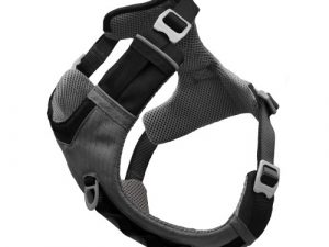 Kurgo Journey Air Dog Harness in Grey Extra Large