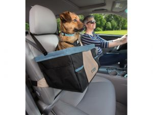 Kurgo Rover Booster Seat for Dogs Black & Blue