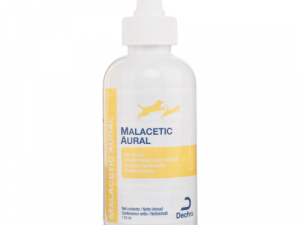 Malacetic Aural Ear Flush Cleaner for Cats and Dogs 118ml