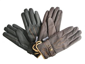 Mark Todd Brown Winter Rider Gloves with Thinsulate Small