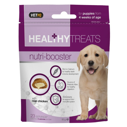 Mark & Chappell VetIQ Nutri-booster Healthy Treats for Puppies 50g