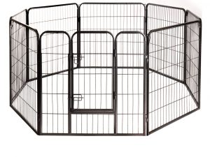 Metal Run for Small Pet & Puppies 8 Sided - 80 x 80 cm