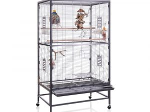 Montana Paradiso 90 Indoor Aviary - 91 x 60 x 160 cm (L x W x H) (*2 packages)