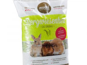 Mucki Mountain Meadow Hay - Economy Pack: 3 x 60l; approx. 4.8kg