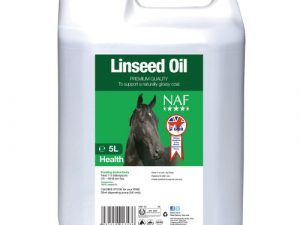 NAF Linseed Oil for Horses 5 Litres