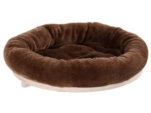 Natural Paradise Chocolate Wall Mounted Cat Bed 48cm Diameter