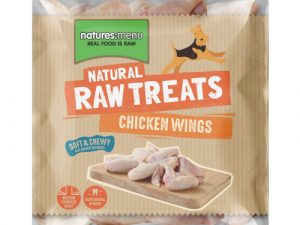 Natures Menu Chicken Wings Raw Frozen Natural Dog Treat 1kg