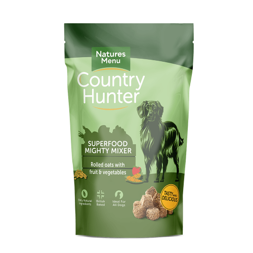 Natures Menu Country Hunter Mighty Mixer Biscuit Adult Dry Dog Food 1.2kg x 5