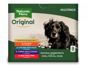 Natures Menu Multipack Adult Dog Food Pouches 300g x 24