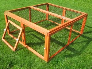 Sided Outdoor Run Outback Classic- Woooden 116x109x48cm
