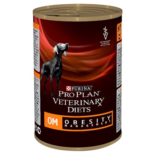 PURINA VETERINARY DIETS Canine OM Obesity Management Wet 400g x 24
