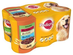 Pedigree Meaty Meals in Jelly Wet Adult Dog Food Tins 400g x 24