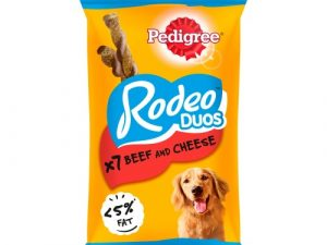 Pedigree Rodeo Duos Beef & Cheese Adult Dog Treats 7 Chews