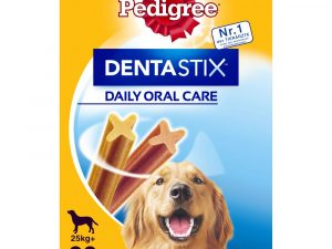 96 x 100g Pedigree Dog Pouches + 28 x Dentastix - Special Bundle Price!* - Senior Multipack in Jelly + 28 Dentastix Daily Oral Care (Large)