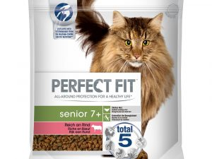 Beef Senior 7+ Perfect Fit Dry Cat Food