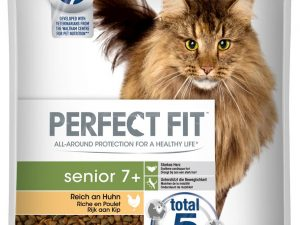 Senior 7+ Chicken Perfect Fit Dry Cat Food