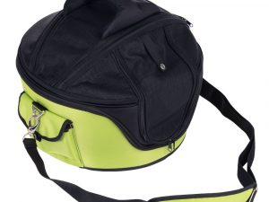 Pet Carrier Bag with Hard Case - Green - 46x44x35cm (LxWxH)
