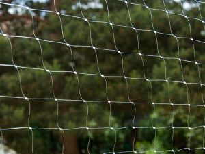 Protective Cat Net Olive with reinforcement