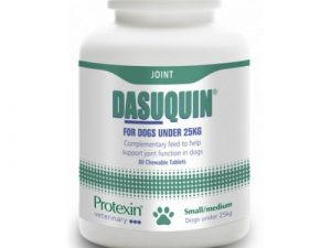 Protexin Dasuquin Joint Support Tablets for Dogs Small & Medium Dogs - 80 Tablets