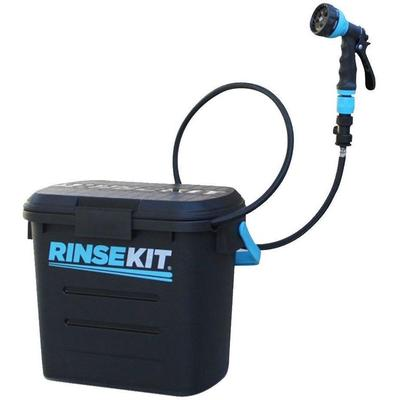 RinseKit Portable Pressurised Dog / Camping Shower / Sprayer - Not Required