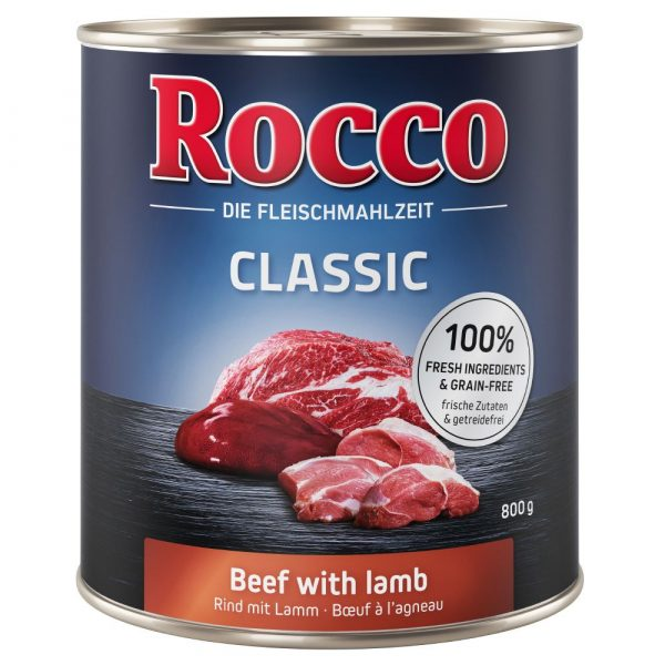 Rocco Classic Pure Beef Wet Dog Food