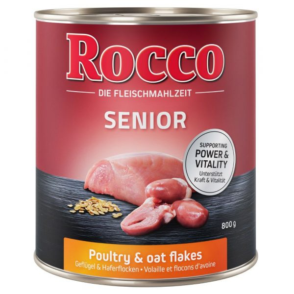 Rocco Poultry & Oats Senior Wet Dog Food