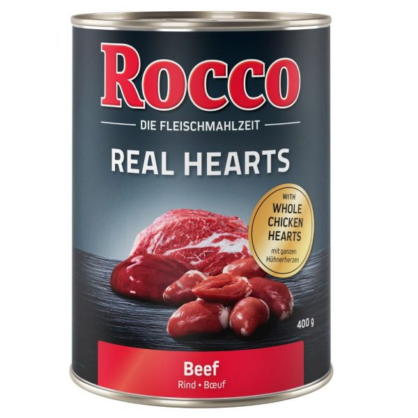 Rocco Real Hearts Beef with whole Chicken Wet Dog Food