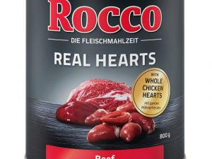 Rocco Real Hearts Chicken with Whole Chicken Hearts Wet Dog Food