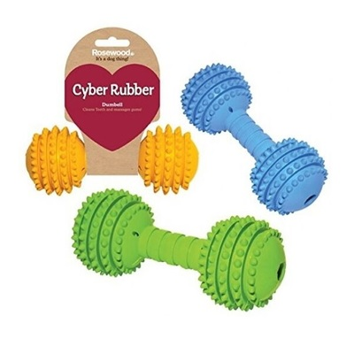 Rosewood Cyber Rubber Dumbell