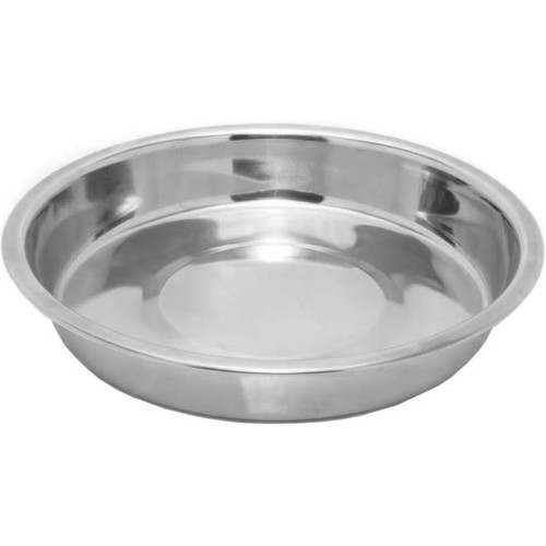 """Rosewood Stainless Steel Shallow Puppy Pan Dog Bowl 6"""""""
