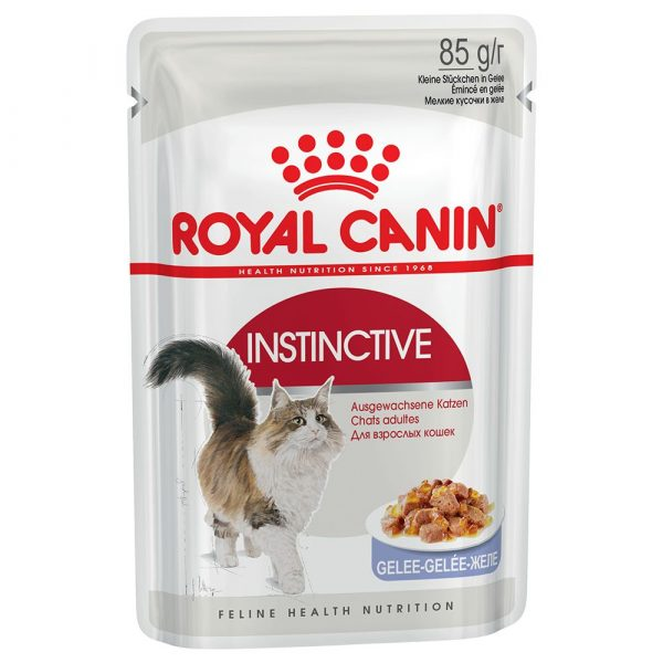 Royal Canin Adult Instinctive in Jelly Wet Cat Food