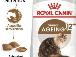 Royal Canin Ageing 12+ Dry Adult Senior Cat Food 2kg