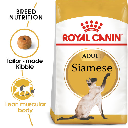 Royal Canin Breed Nutrition Siamese Adult Cat Food 4kg x 2