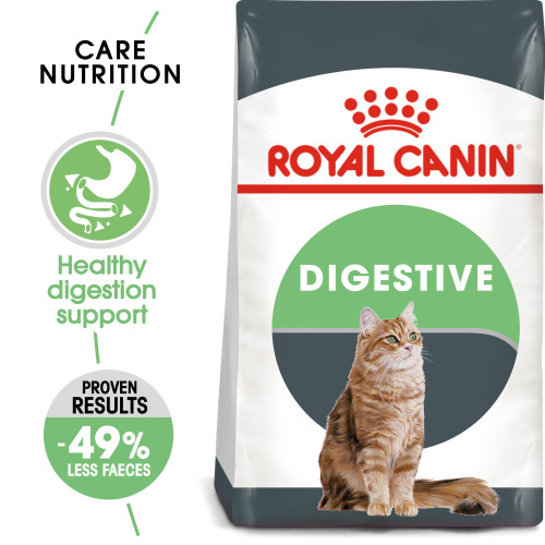 Royal Canin Digestive Care Dry Adult Cat Food 4kg x 2