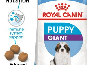 Royal Canin Giant Puppy Dry Dog Food 15kg x 2
