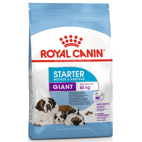 Royal Canin Giant Starter Mother & Babydog Adult and Puppy Dry Dog Food 15kg