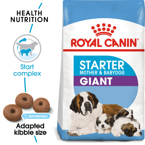 Royal Canin Giant Starter Mother & Babydog Adult and Puppy Dry Dog Food 4kg