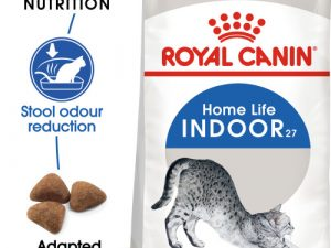 Royal Canin Indoor 27 Dry Adult Cat Food 4kg x 2