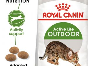 Royal Canin Outdoor Dry Adult Cat Food 2kg