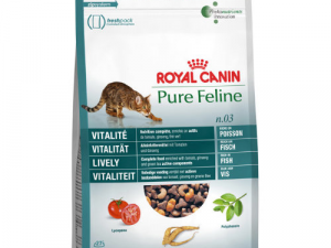 Royal Canin Pure Feline No 3 Lively Adult Cat Food 300g