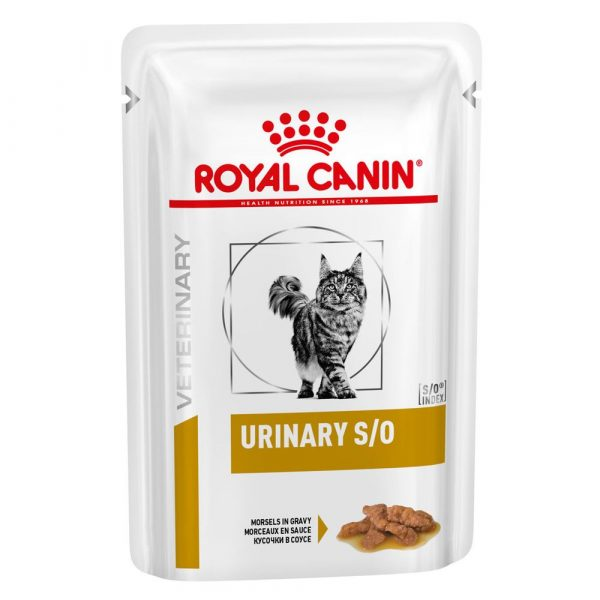 Royal Canin Urinary S/O Chicken Pouches Feline Veterinary Diet Wet Cat Food