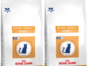 Royal Canin VCN Senior Consult Stage 1 Cat Food 10kg x 2