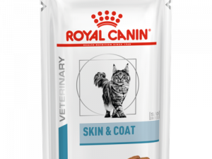 Royal Canin VCN Skin & Coat Wet Pouches Cat Food 85g x 48