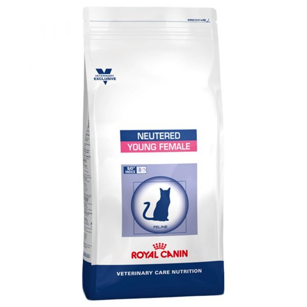 Royal Canin Vet Care Nutrition Neutered Young Female Dry Cat Food