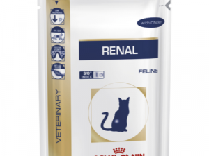 Royal Canin Veterinary Diets Renal Cat Food Pouches 85g x 12 Chicken