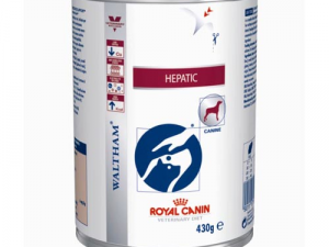 Royal Canin Veterinary Hepatic HF 16 Dog Food Cans 420g x 12